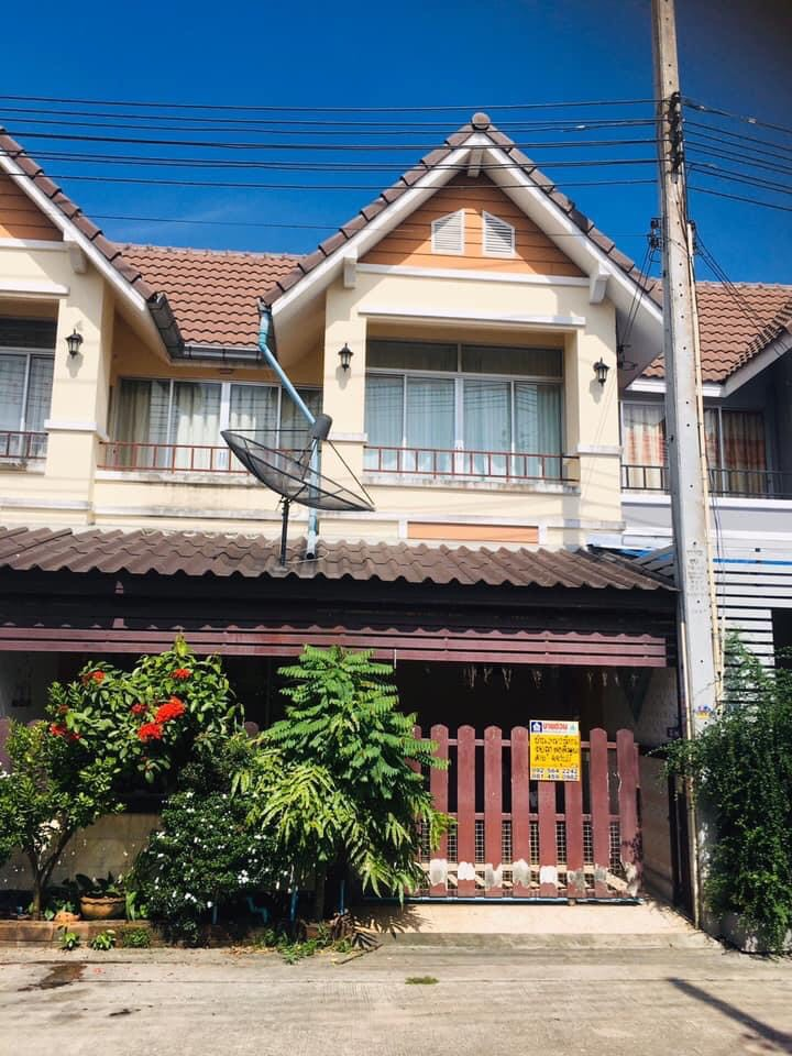 ขายบ้าน ทาวน์เฮ้าส์2ชั้น-หมู่บ้านสินเจริญ(สำนักบกชลบุรี)